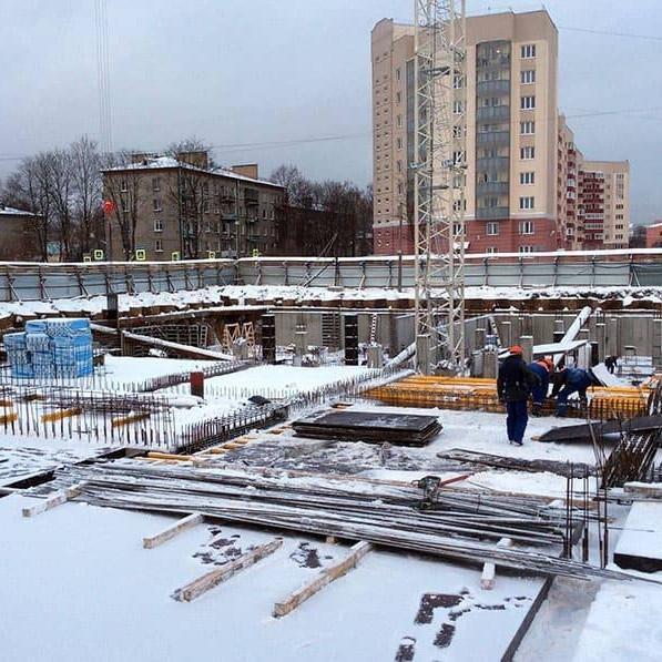 строительство жилого комплекса Золотое время